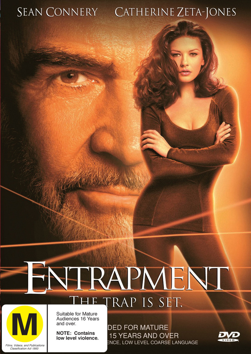 Entrapment on DVD image