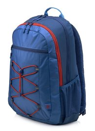 "HP 15.6"" Active - Laptop Backpack (Blue/Red)"