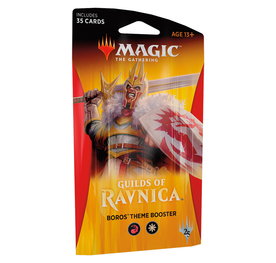 Magic The Gathering: Guilds of Ravnica Theme Booster: Boros image