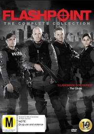 Flashpoint Complete Collection on DVD