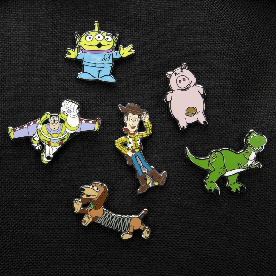 Toy Story Enamel Pin Badge - Rex image