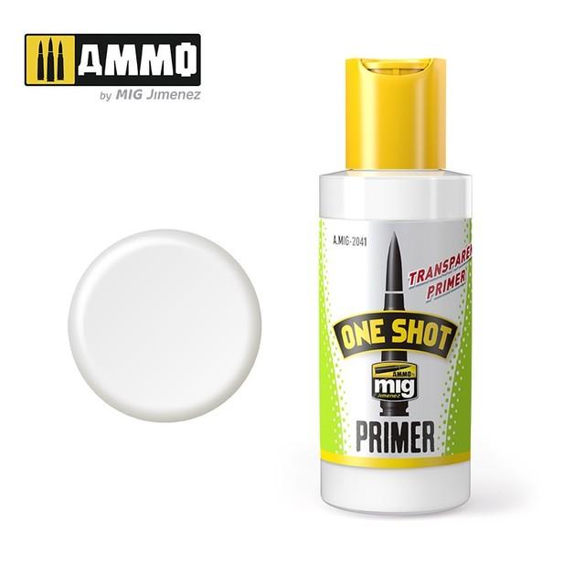 Ammo for Mig Jimenz One Shot Transparent Primer