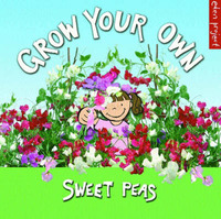 Grow Your Own Sweet Peas by Ley Honor Roberts image