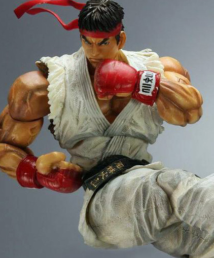 Street Fighter 4 Play Arts Kai Ryu Action Figure image
