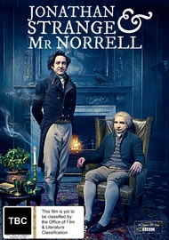 Jonathan Strange & Mr Norrell on DVD