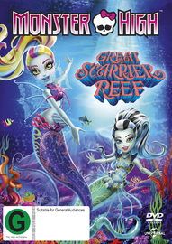 Monster High: Great Scarrier Reef DVD