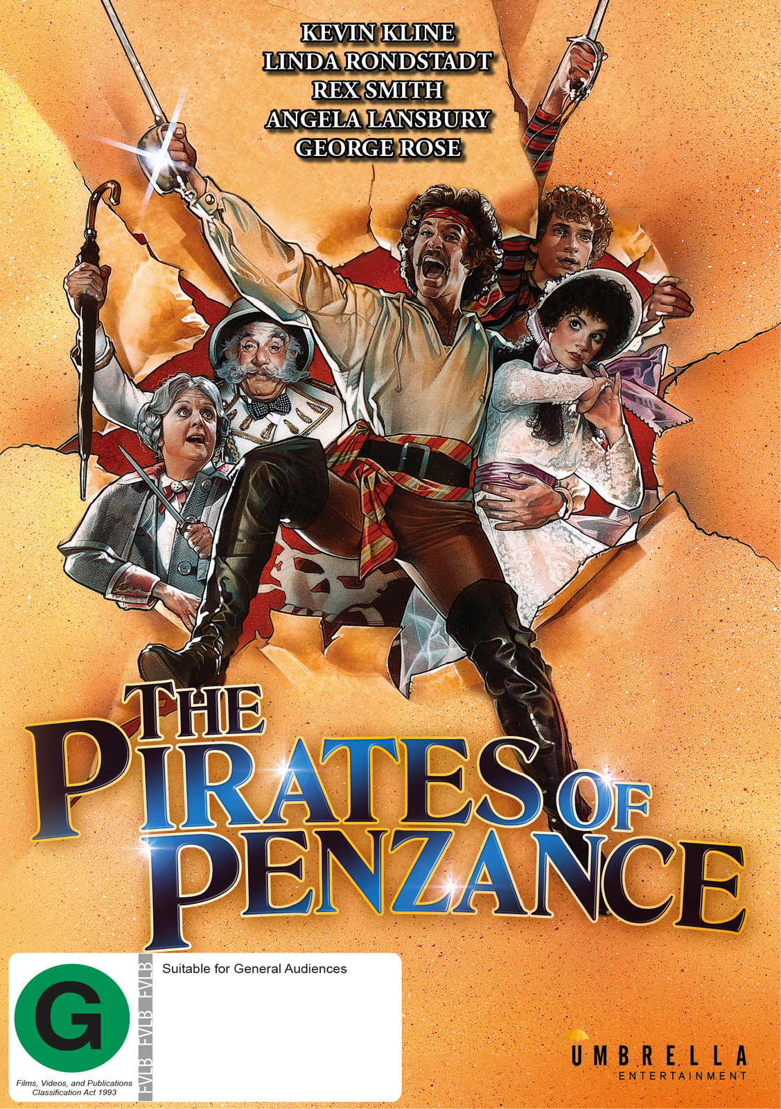 The Pirates of Penzance on DVD image