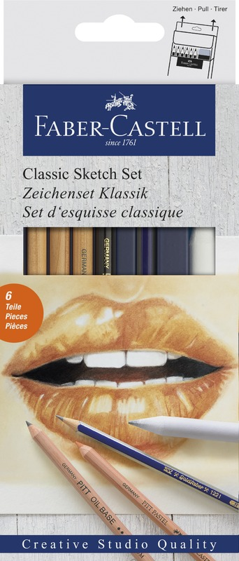 Faber-Castell: Classic Sketch Set