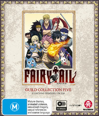 Fairy Tail Guild: Collection 5 (Episodes 176-226) on Blu-ray image