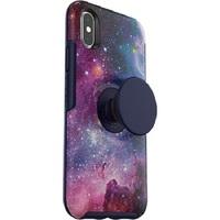 Otter + Pop: Symmetry for iPhone X/Xs - Blue Nebula image