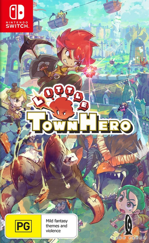 Little Town Hero Big Idea Edition for Switch
