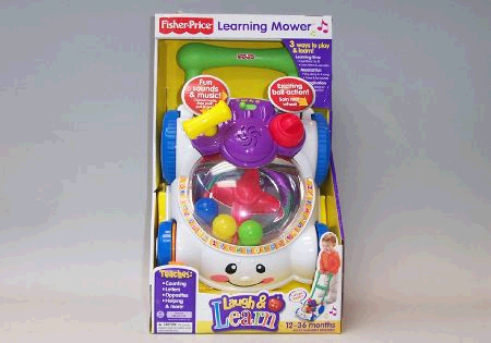 Fisher Price  Learning Mower image