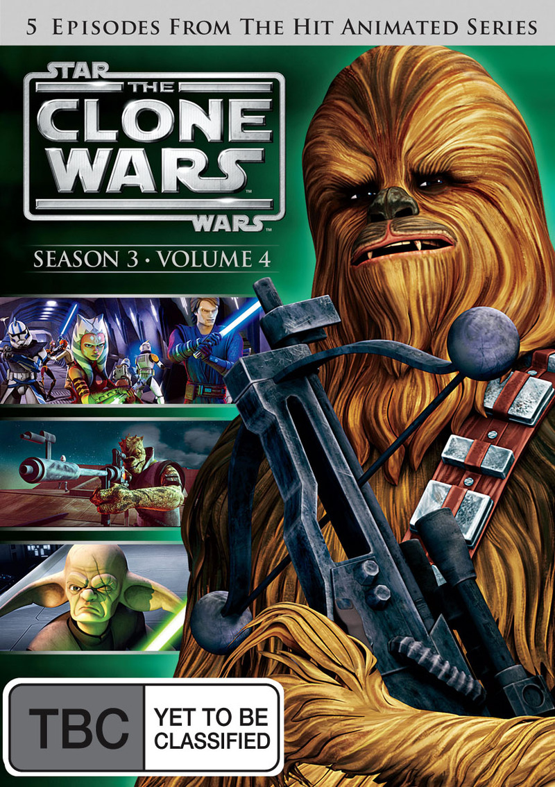 Star Wars: The Clone Wars - Season 3 Volume 4 on DVD image
