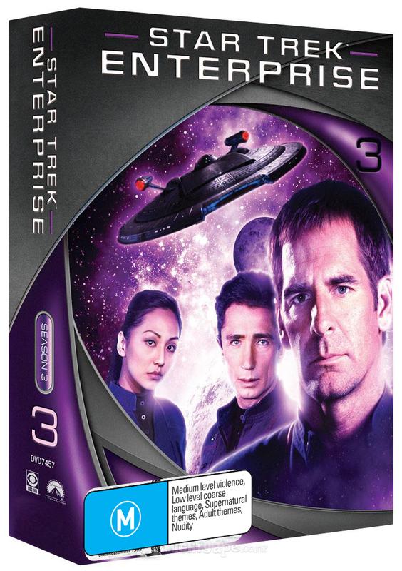 Star Trek: Enterprise - Season 3 (New Packaging) on DVD