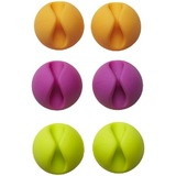 Bluelounge CableDrop Cable Clips - Bright