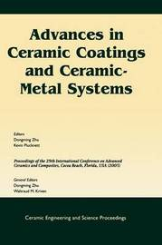 Advances in Ceramic Coatings and Ceramic-metal Systems image