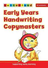 Early Years Handwriting Copymasters by Lyn Wendon image