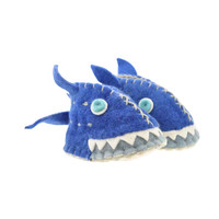 Woolie Slippers - Shark