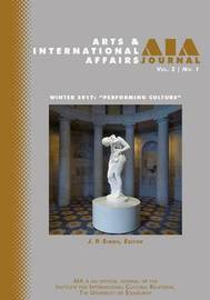 Arts and International Affairs 2.1 by J.P. Singh