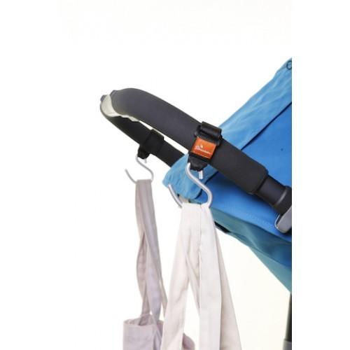 Strollerbuddy® Ezy-Fit Stroller Hooks (2 Pack) image
