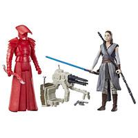 Star Wars: Force Link Figure - Rey (Jedi Training) & Elite Praetorian Guard 2 Pack image