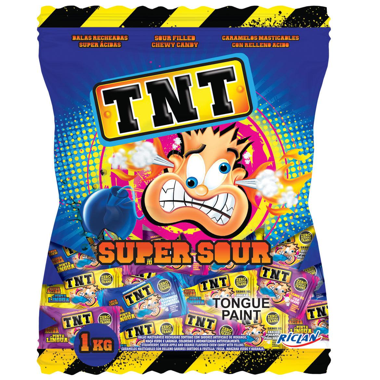 TNT Tongue Painter Sour Liquid filled Chews (1kg) image