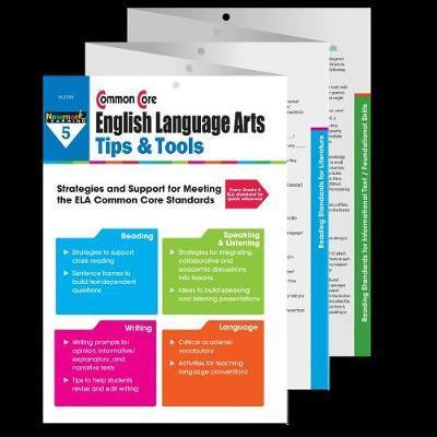 Common Core Ela Tips & Tools Grade 5 image