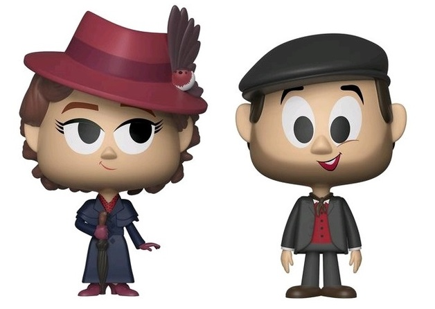 Mary Poppins + Jack - Vynl. Figure 2-Pack