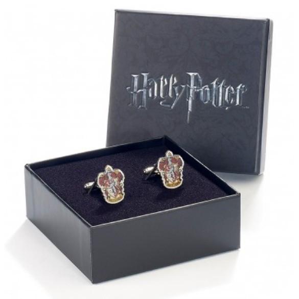 Harry Potter: Silver Plated Gryffindor Crest Cufflink