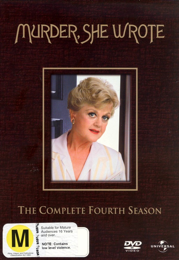 Murder, She Wrote - Complete Season 4 (6 Disc Set) on DVD image