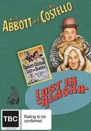 Abbott and Costello Lost In Alaska on DVD