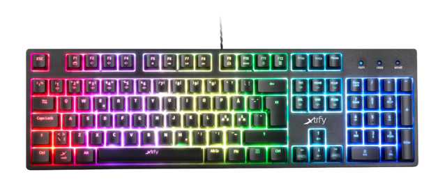 XTRFY K3 RGB Mechanical Gaming Keyboard (US) for PC