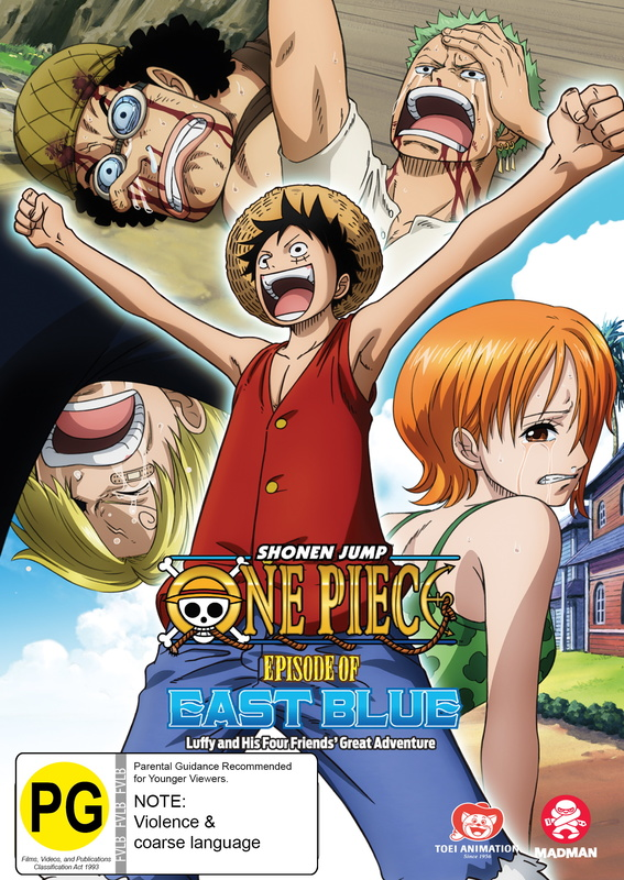 One Piece - Episode of East Blue: Luffy And His Four Friends' Great Adventure on DVD