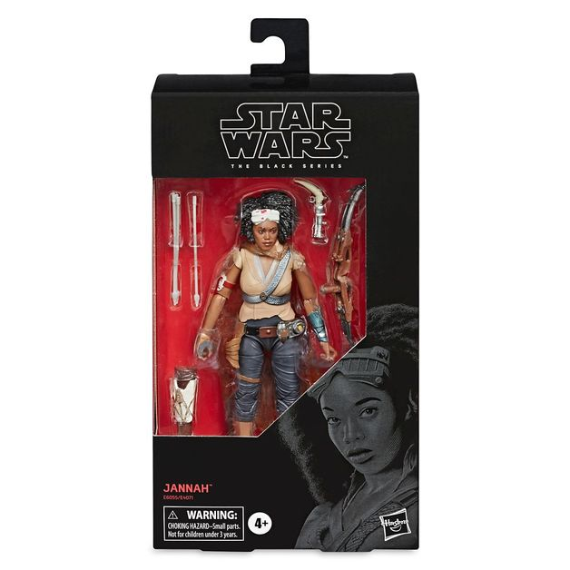 "Star Wars The Black Series: Jannah - 6"" Action Figure"