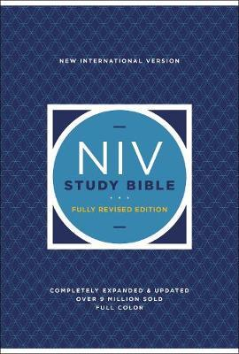 NIV Study Bible, Fully Revised Edition, Hardcover, Red Letter, Comfort Print