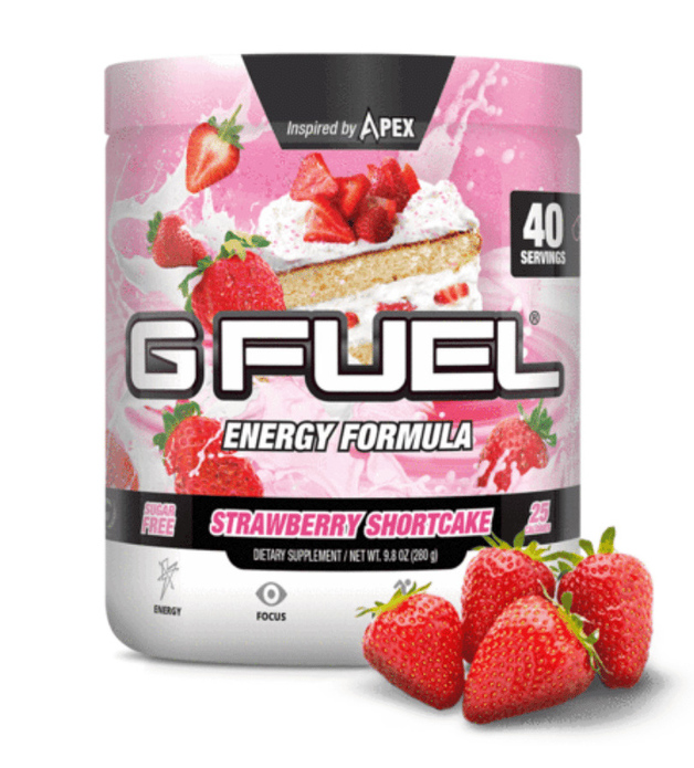 G FUEL Energy Formula - Strawberry Shortcake (40 Servings)