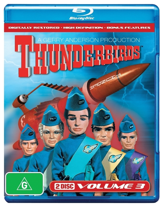 Thunderbirds (1965) - Volume 3 on Blu-ray