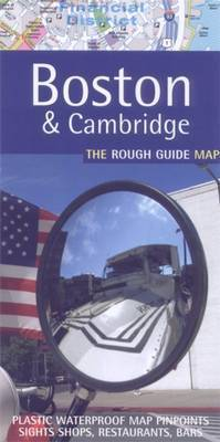 The Rough Guide Map Boston by Rough Guides