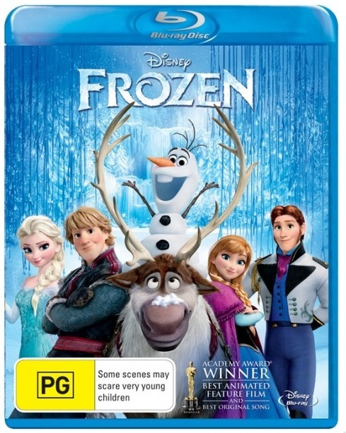 Frozen on Blu-ray