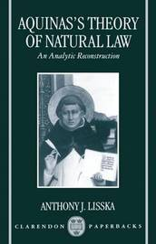 Aquinas's Theory of Natural Law by Anthony J. Lisska image