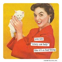 Anne Taintor: Cat Lady - Magnet