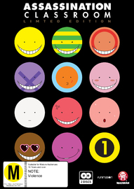 Assassination Classroom - Part 1 Limited Edition on DVD