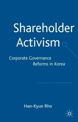 Shareholder Activism by Han-Kyun Rho