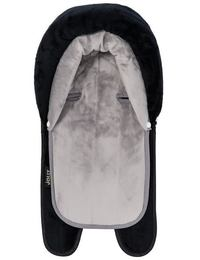 Jolly Jumper 2 in 1 Terry Head Hugger - Black/Grey image