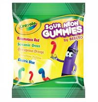 Crayola - Sour Neon Gummies (99g)