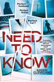 Need To Know by Karen Cleveland image