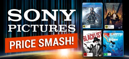 Sony Pictures Specials for August - Up to 60% off!