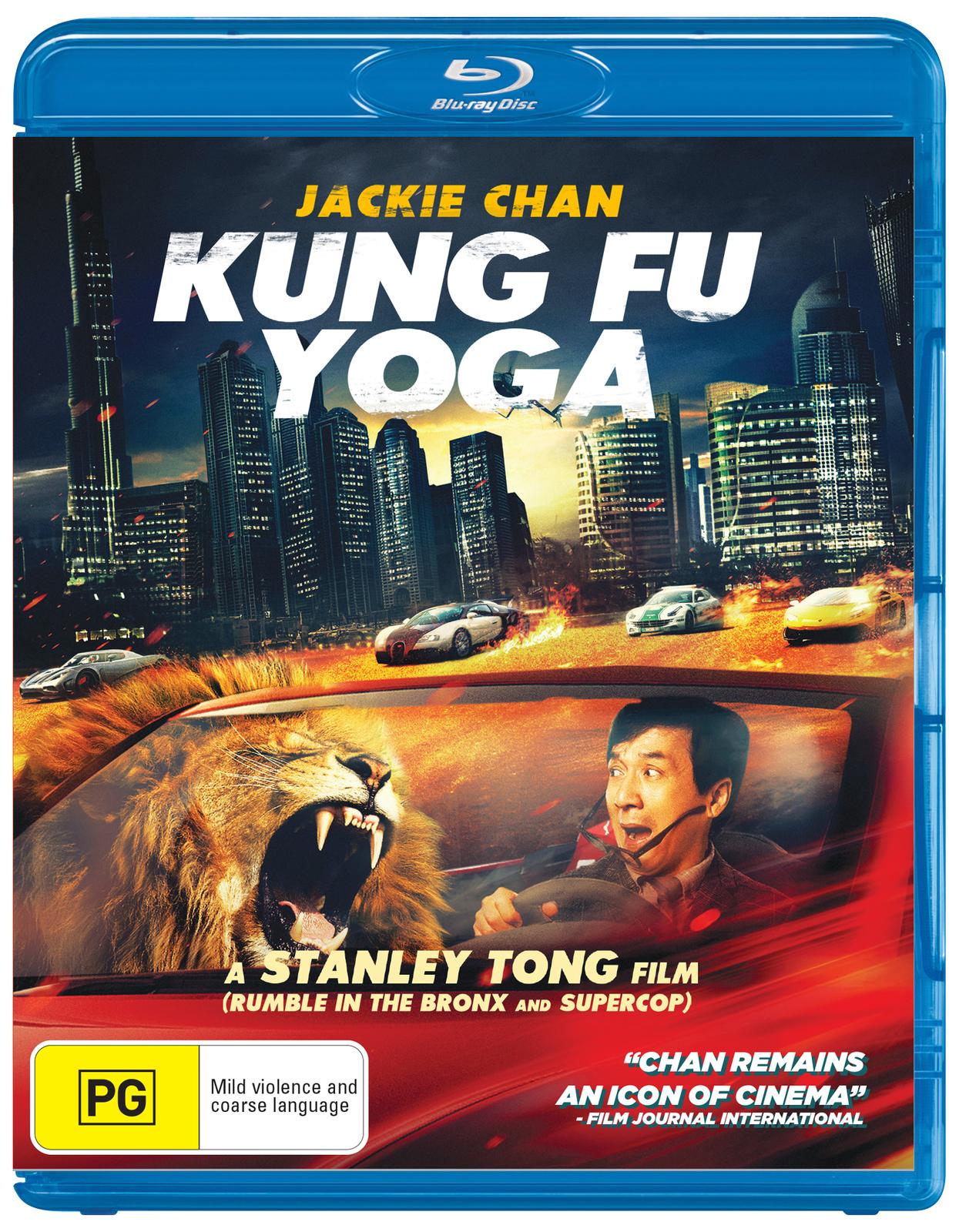 Kung Fu Yoga on Blu-ray image
