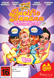 Pacific Banana on DVD image