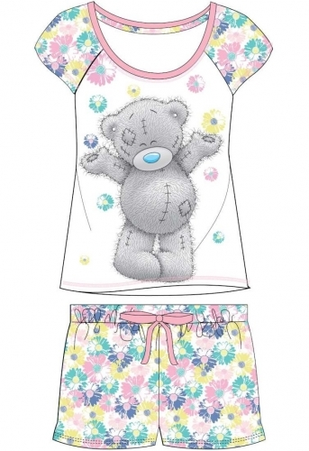Me To You: Tatty Teddy Summer (Floral) - Women's Pyjamas (8-10) image